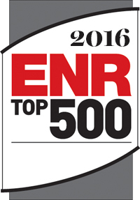 2016 Engineering News Record Top 500 Design Firm