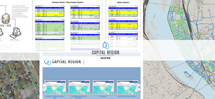 Capital Region Water GIS