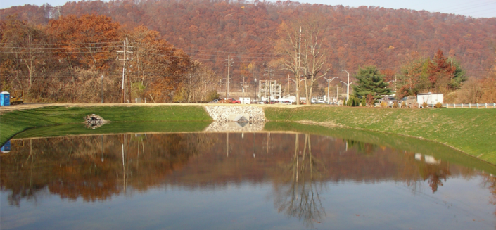 Clarion University, Venango Campus-West End Pond Renovations