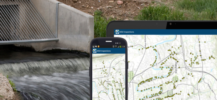 Mobile GIS Development for MS4 Inspections
