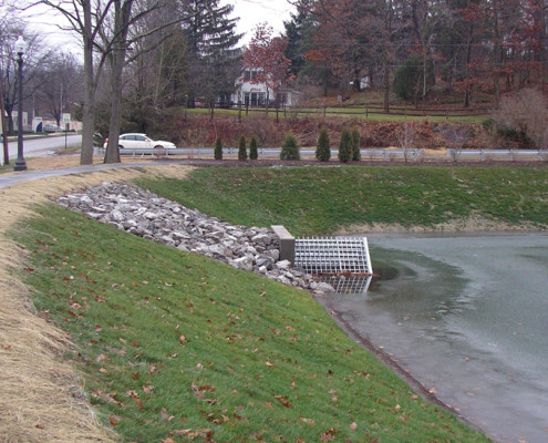 West Clarion University Pond