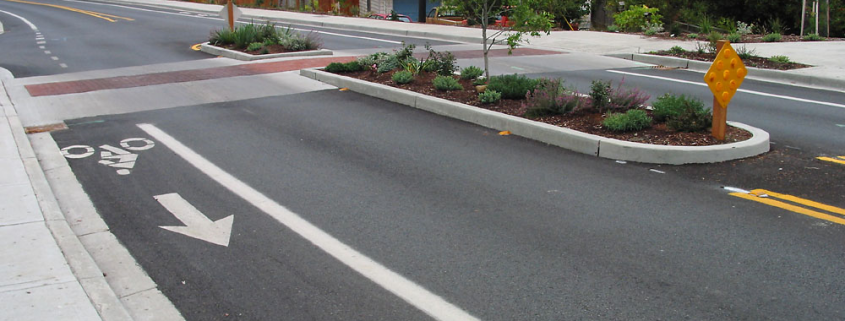Traffic Calming - center median