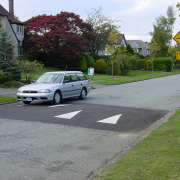 Traffic Calming - speed hump