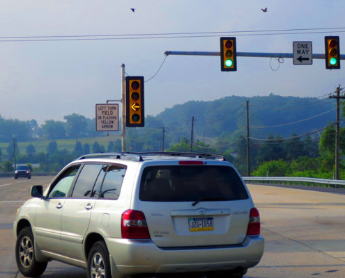 Flashing Yellow Signal in Lower Allen featured