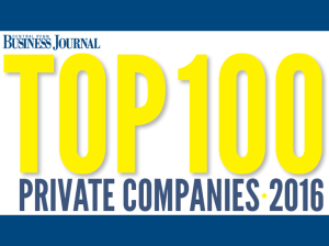 Central Penn Business Journal Top 100 Private Companies 2016
