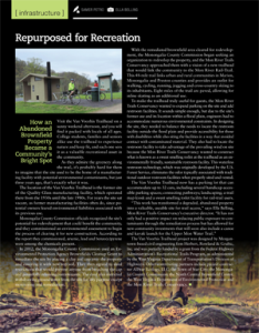 Van Voorhis Trailhead in WV Executive magazine
