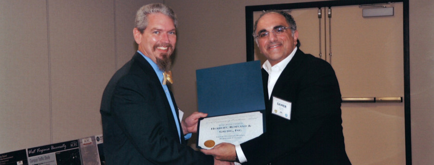 Salem Overpass Award from WV-ACEC Joint Transportation Forum