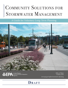EPA's planned guide on stormwater management planning can help municipalities address aging infrastructure and regulatory challenges under tight budget constraints.