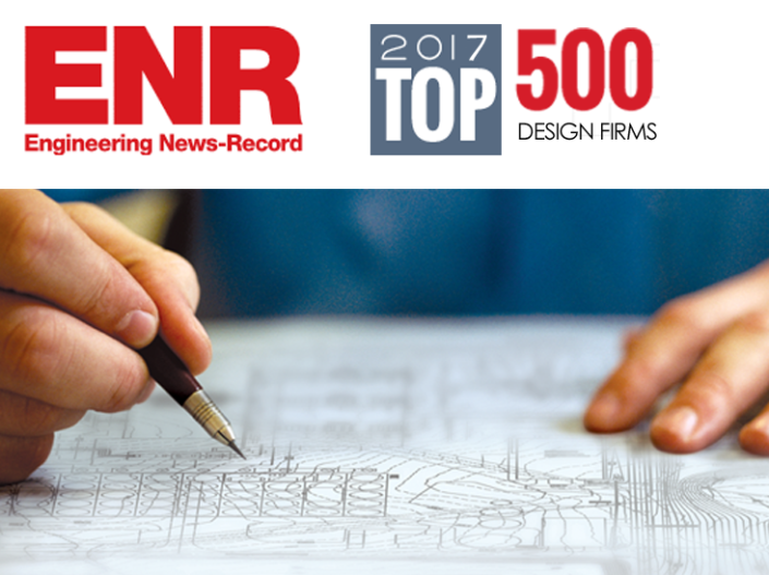 ENR Names HRG Among Top 500 Design Firms
