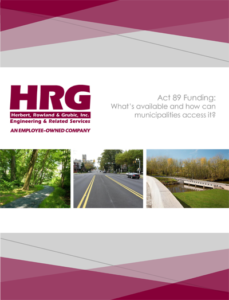 Cover of HRG's Guide to Obtaining Act 89 Transportation Funding
