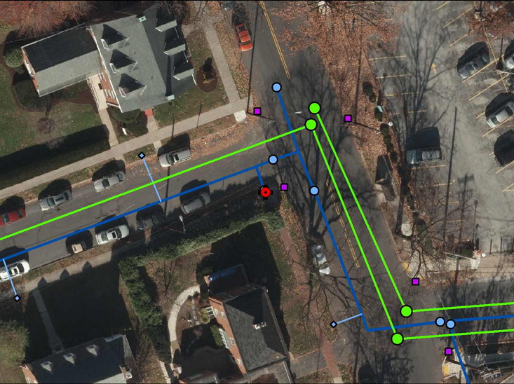 how to choose the best method of gis data collection for water and sewer systems